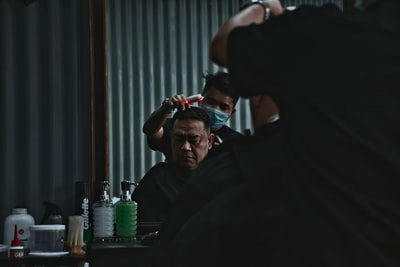 What does 'barber vs. hairderer' mean in your community?